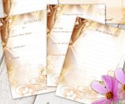 52 Wochenkarten Brautpaar