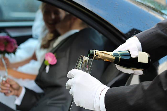 Aufgaben des Trauzeugen Chauffeur