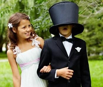 Blumenkinder Aufgaben bei der Hochzeit