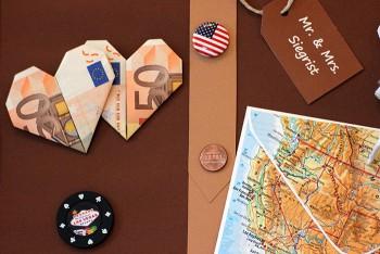 Geldgeschenk Koffer