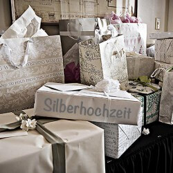 Geschenke zur Silberhochzeit