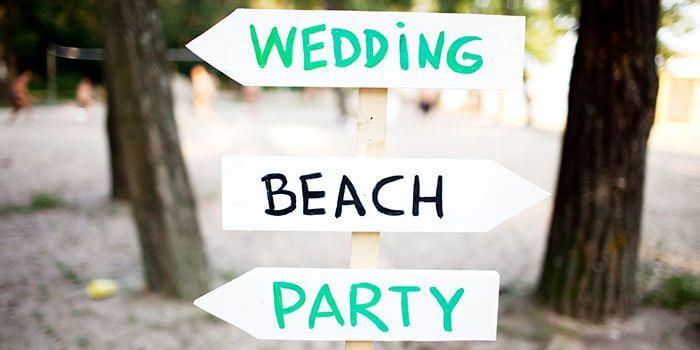 Heiraten Strand Insel