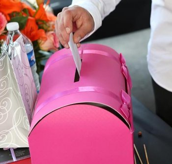 Hochzeit Briefbox