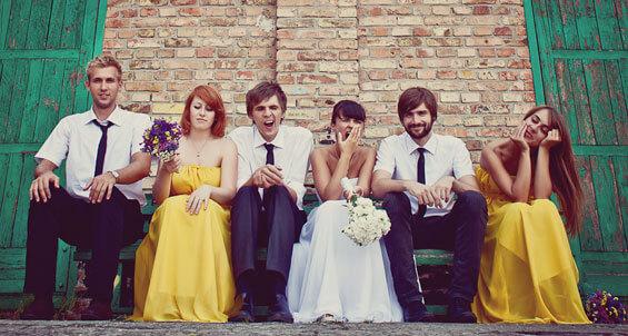 Hochzeitsbilder mal anders