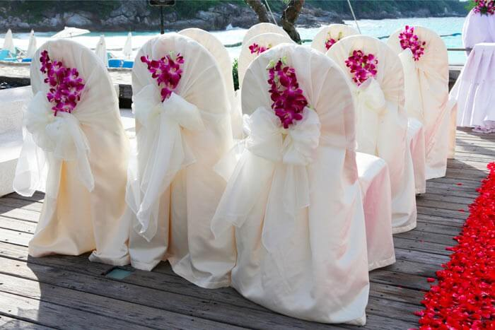 Hochzeitsdeko Orchideen