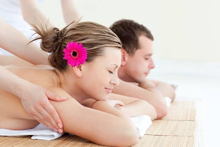 Hochzeitsüberraschung Wellness Massage