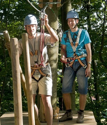 JGA Ideen Kletterpark