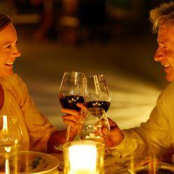 Romantisches Abendessen als Liebesbeweis