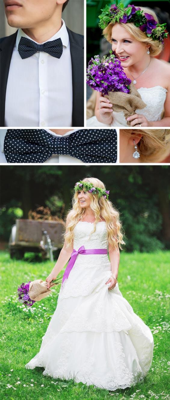 Rustikale Hochzeit Vintage
