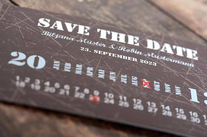 Save-the-Date Postkarten