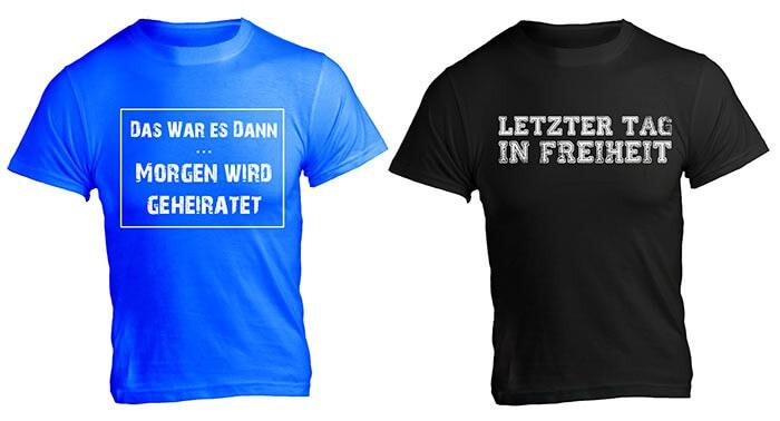 T-Shirt Junggesellenabschied
