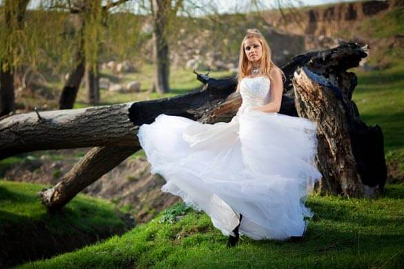 Trash the Dress Natur