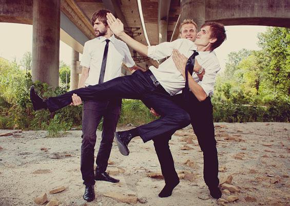 Witzige Hochzeitsbilder