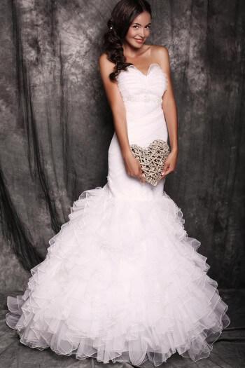 Brautkleider in Meerjungfrau-Form
