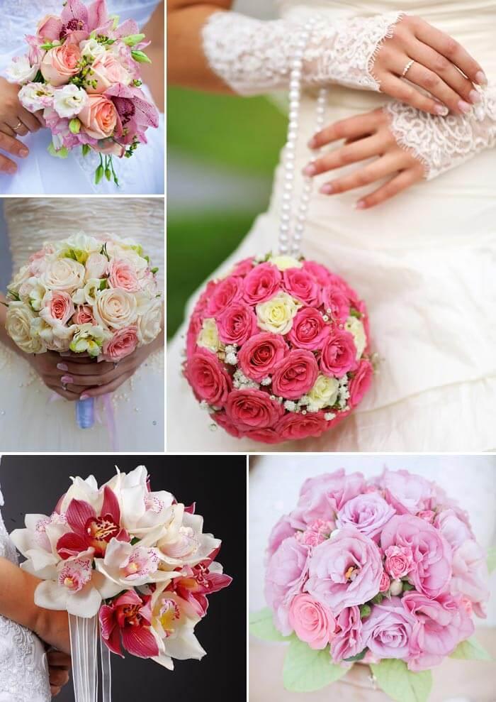 Brautstrauß Rosa hell