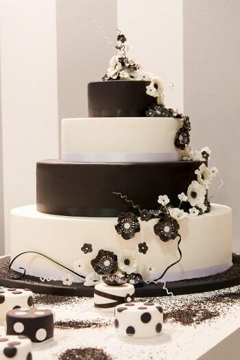 Deko für Hochzeitstorte