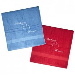Handtuch-Set für Paare zur Hochzeit