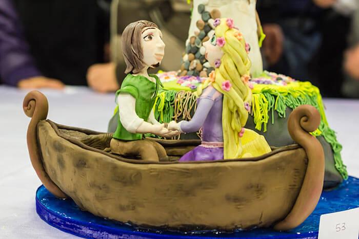 Hochzeitsfiguren für Torten