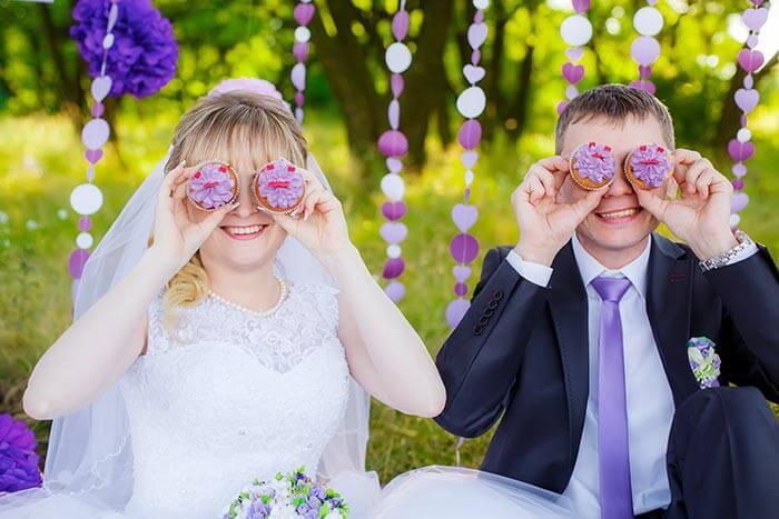 Hochzeitsfotos witzig