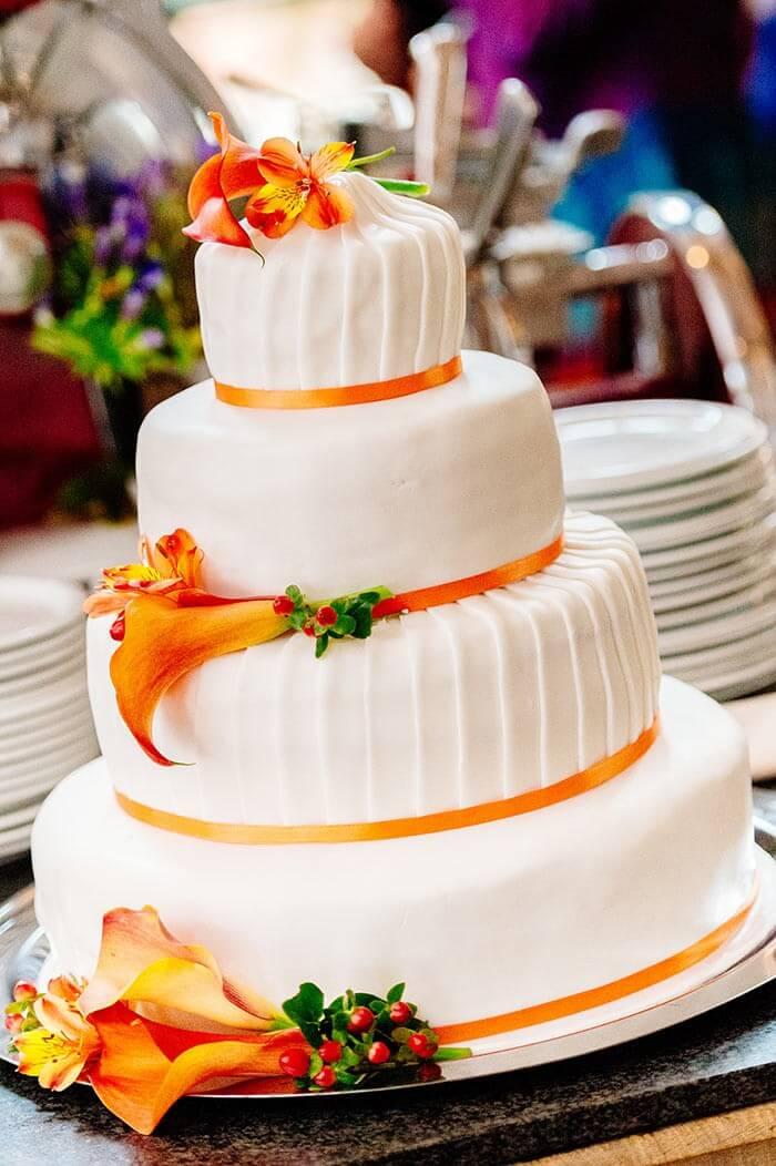 Hochzeitstorte Calla