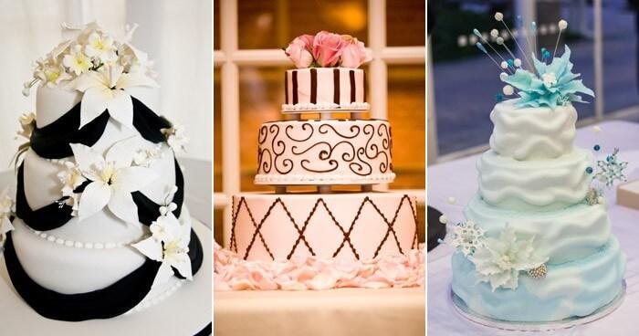 Hochzeitstortenfiguren Blumen als Alternative