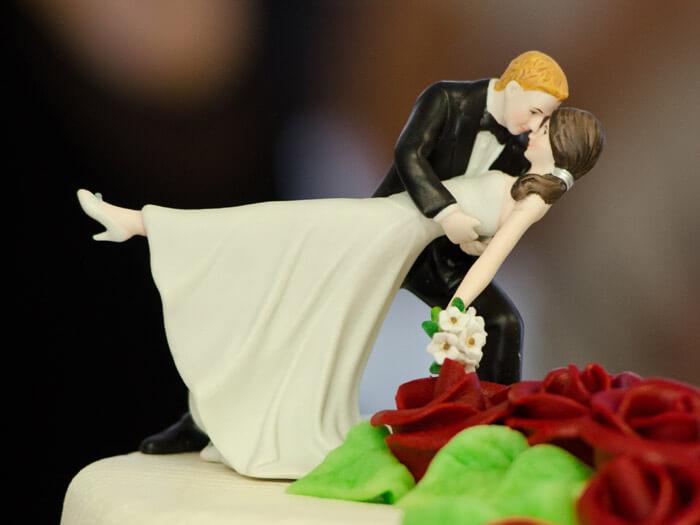 Hochzeitstortenfiguren