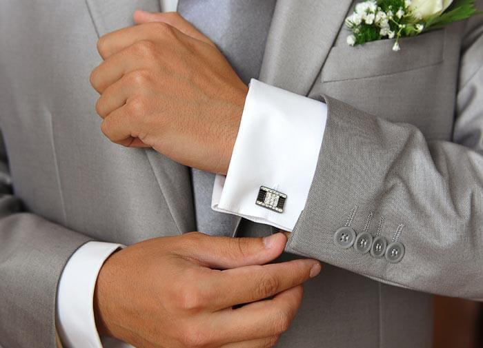 Manschettenknöpfe Hochzeit