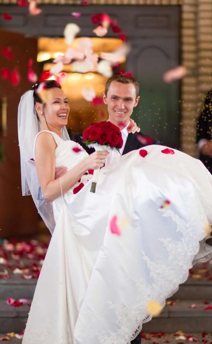 Ablauf der Hochzeit