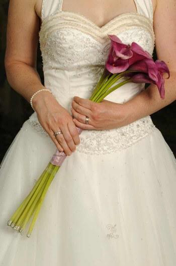 Brautstrauß Zepter