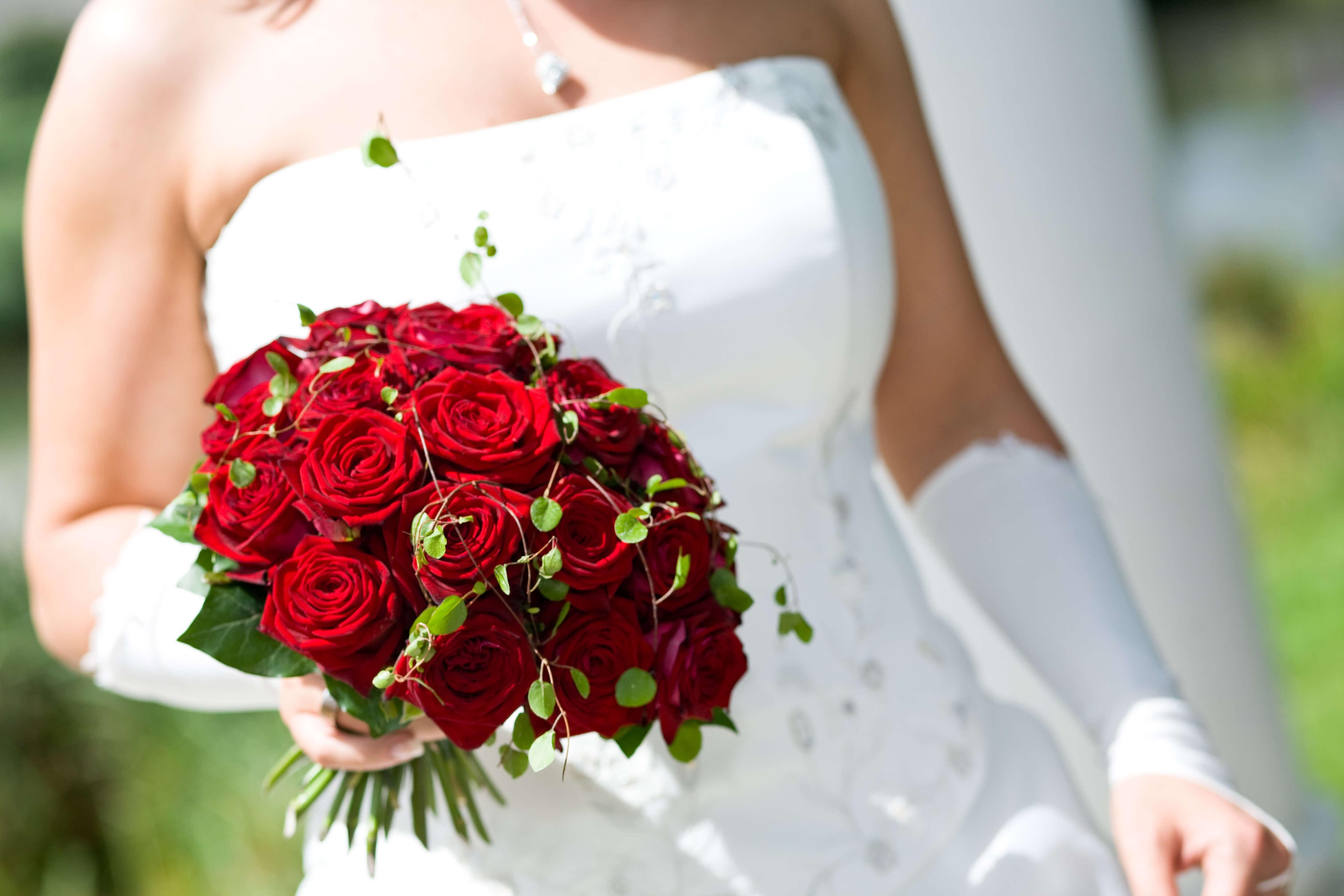 Brautstrauß klassisch