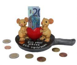 Geldgeschenk Mäuse zum Verbraten