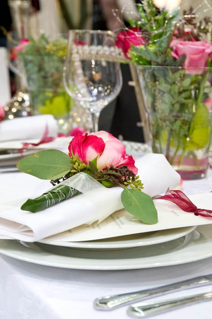 Hochzeit-Blumendeko