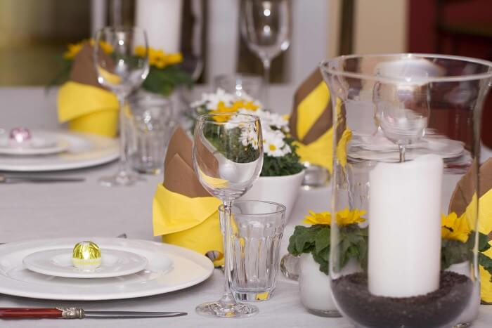Hochzeitsdeko Sommer Sonnenblumen