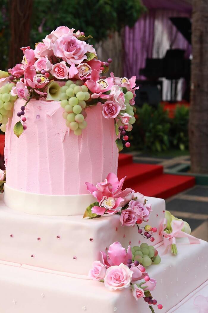 Hochzeitstorte Eis
