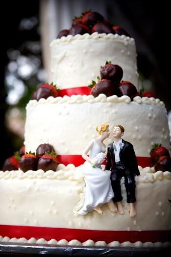 Tortenfigur Brautpaar