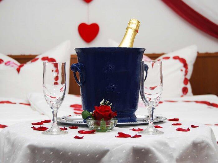 Überraschung Hochzeitsnacht