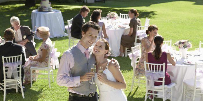 Alles für die Hochzeitsfeier