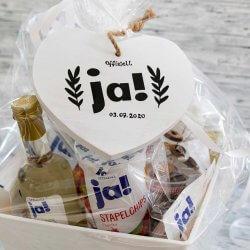 Hochzeitsgeschenk Ja-Produkte