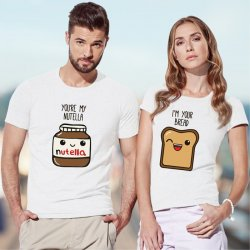 Partner-T-Shirts lustig