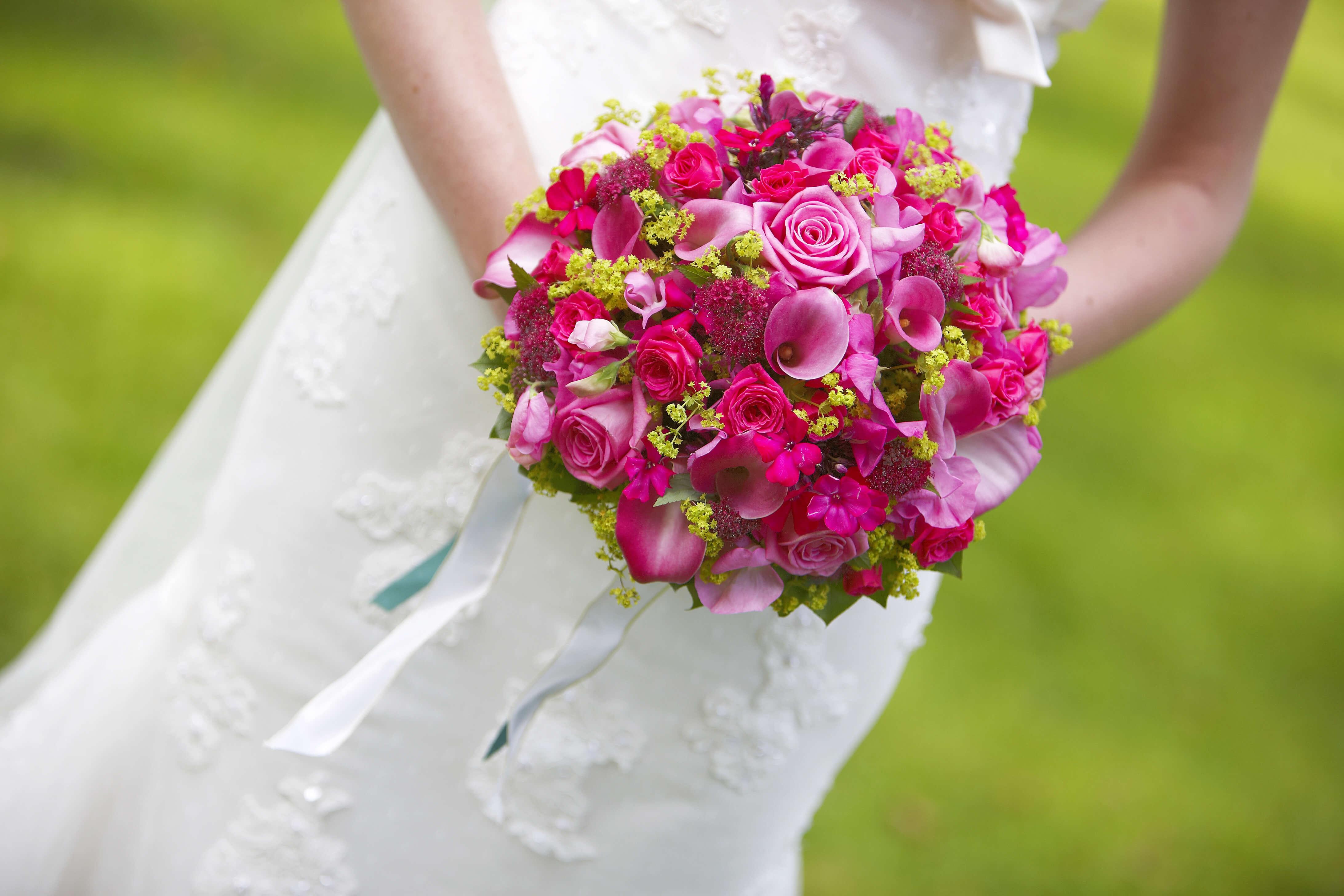Brautstrauß Calla Rosen