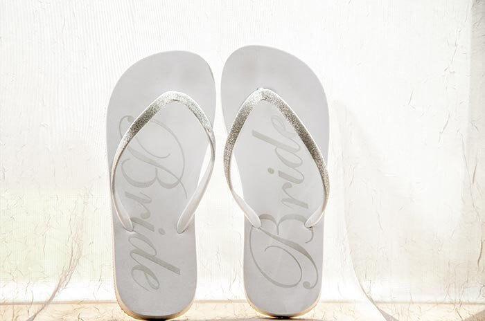 Braut Flip Flop
