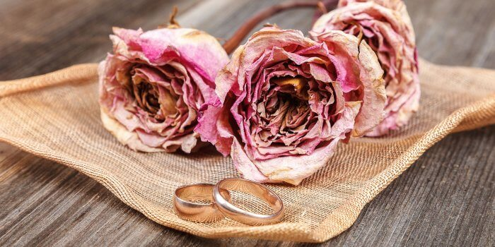 Brautstrauß trocken