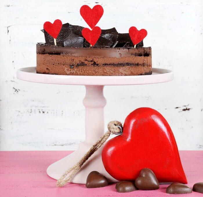 Herz Stanzer groß Cake Topper