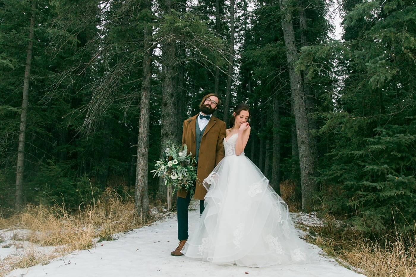 Hochzeit Wald
