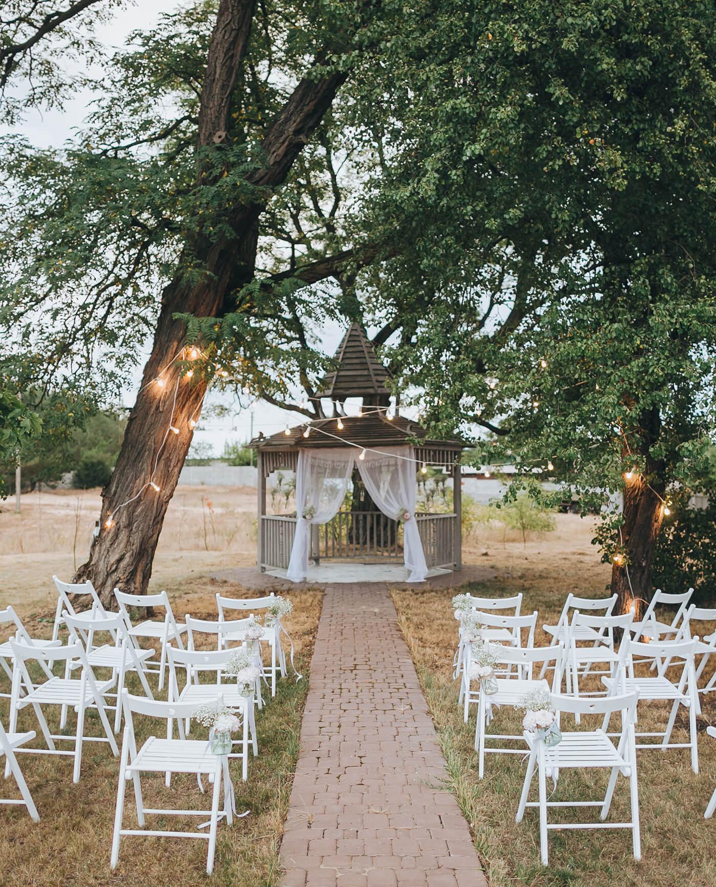 Hochzeitslocation Wald