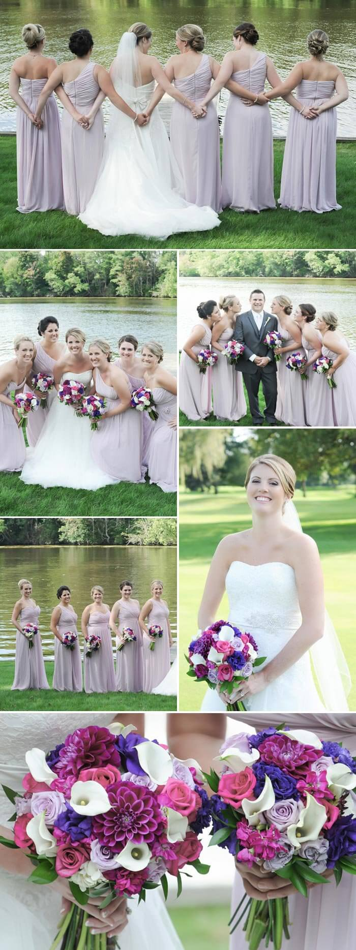 Brautjungfern Braut