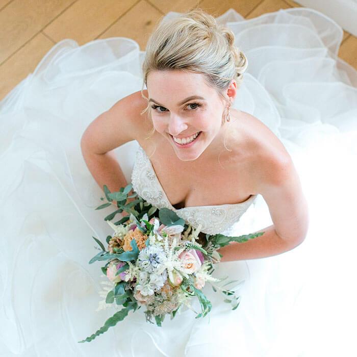 Barock-Kleider Hochzeit