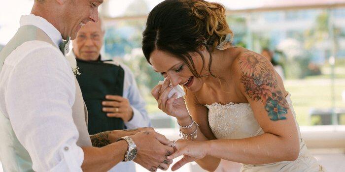 Brautkleid Tattoo