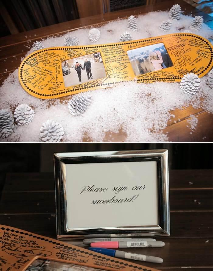 Besonderes Hochzeitsgästebuch