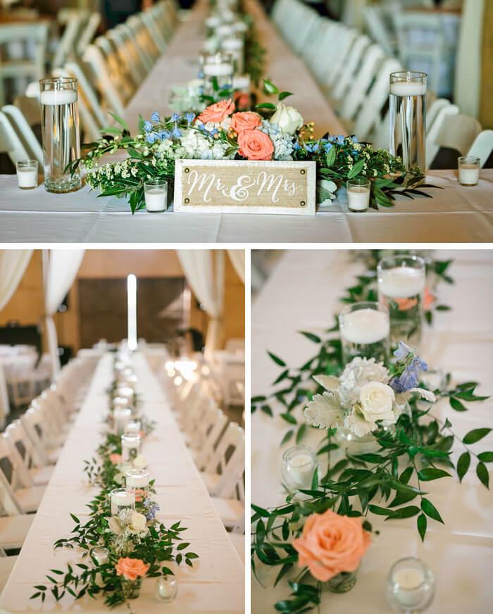 Tischdeko Hochzeit Frühling